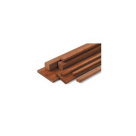 Mogano: altezza cm 100 sezione rettangolare