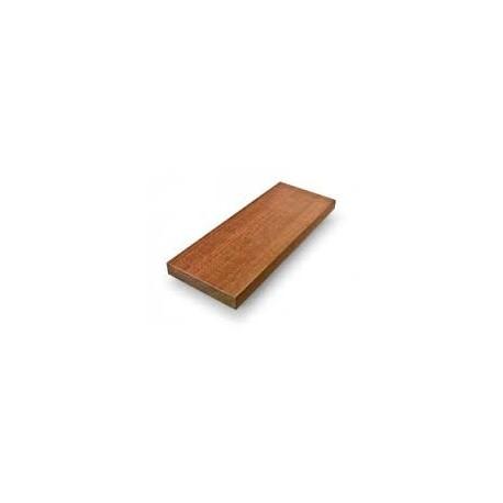 Dibetou: altezza cm 100 sezione quadrata