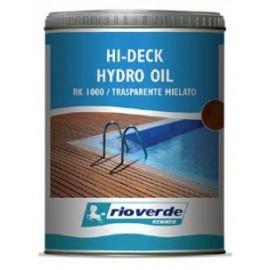 HI-DECK HYDRO OIL RK1000 TRASPARENTE MIELATO