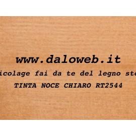 Tinte all\'Acqua per Legno RT2544 Noce Chiaro - www.daloweb.it