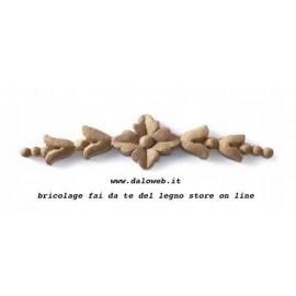 Fregio in pasta di legno 03.4418