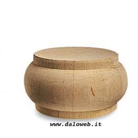 Piede in legno grezzo per mobili 03.0001