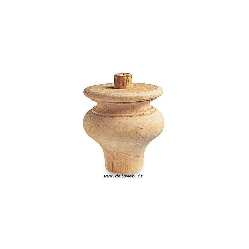 Piede in legno grezzo per mobili - Mobili legno grezzo ...
