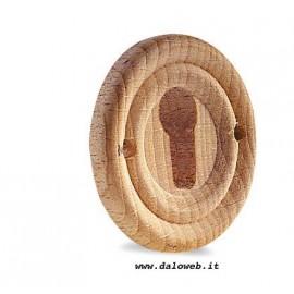 Bocchetta da incasso in legno 03.3156